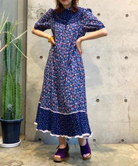 【Used】S/S Flower Long One-Piece