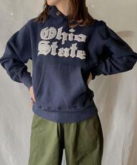 【USED】 80's USA Lady  Champion Reverse Weave Sweat OHIO / 210127-014