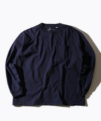 【MAX WEIGHT JERSEY】Long Sleeve T-shirt  Pocket (Navy)