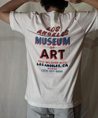 【NEW】 S/S T-shirt LACMA (White)/210616-002