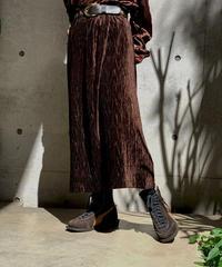 【Used】Velor  Long  skirt/ 200928-004
