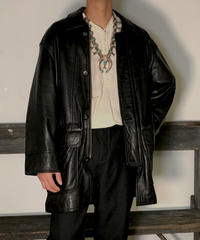 【Used】Leather Jacket /201020-006