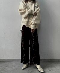 【RE;CIRCLE】 Mellow  Velour  Pants ① / 210106-002