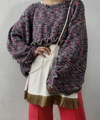【RE;CIRCLE】 Mellow Shaker Knit Sweater ③ /210120-004