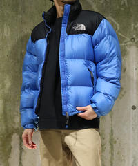 [Used] THE NORTH FACE Nuptse Jacket (Black/Blue)(NF6)