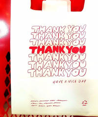 【LIXTICK】 Thank you Shopping Bag