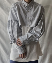 【RE;CIRCLE】  Gather Sleeve Short Shirt②/210303-037