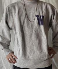 【USED】 80's USA Champion Reverse Weave W(ILLIMAS)/210324-025