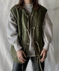 【RE;CIRCLE】 Remake Liner Jacket With Ribbon② /210210-009