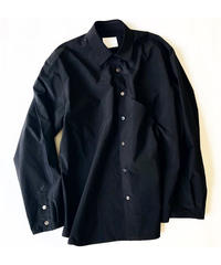 [A.D.A.N] E/W POC SHIRTS(Black)