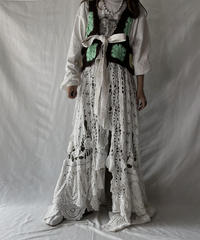 【RE;CIRCLE】 RE Granny × Crochet N/S Gown②/211014-016