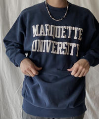 【USED】 90's USA Champion Reverse Weave MARQUETTE②/210324-022