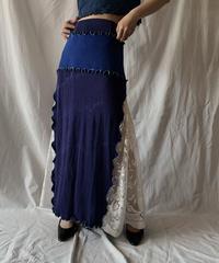 【RE;CIRCLE】 RE Mellow Long Skirt⑤/210414-018