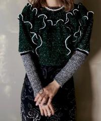 【RE;CIRCLE】 Mellow Shaker Knit ⑥ /201202-007