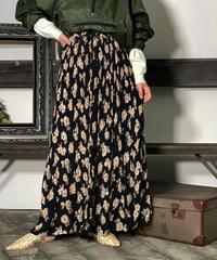 【Used】Flower Long skirt/ 201008003