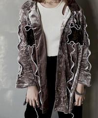 【RE;CIRCLE】 Mellow Velour Shirt /201212-021