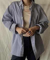【USED】 Ralph Lauren L/S Strip Shirt③/210624-021