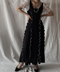 【RE;CIRCLE】 RE N/S Mellow Dress①/210414-020