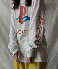"【USED】L/S T-shirt ""PS"" Family Logo /210602-011"