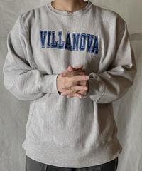 【USED】 80's USA Champion Reverse Weave Sweat VILLANOVA / 210127-053
