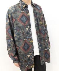 【Used】Pattern Silk Shirts 1 / Sale