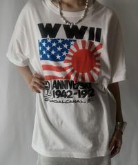 【USED】 S/S T-shirt WWⅡ/210801-026