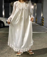 【Used】Christian Dior  Long dress  White