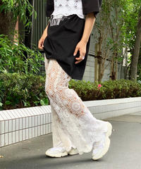 【RE;CIRCLE】Crochet Lace  Pants