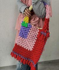 【RE;CIRCLE】 Granny Knit Bag ① /210125-0011