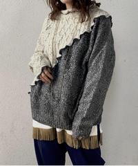 【RE;CIRCLE】 Mellow Aran Knit ② /210106-014