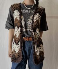 【USED】  Crochet Vest/210825-032