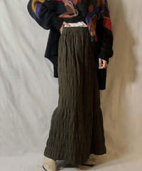 【USED】Cotton Long Skirt/210303-023