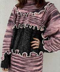 【RE;CIRCLE】 Mellow Knit Sweater ③ /210106-027