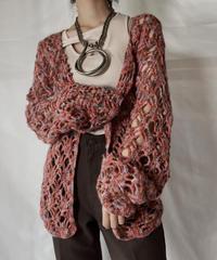 【USED】  Crochet Knit L/S Top⑧/211014-059