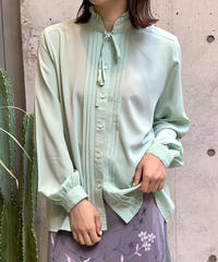 【Used】L/S Color Frill Blouse / 200807-009