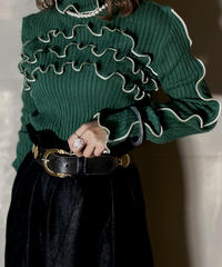 【RE;CIRCLE】L/S Mellow Rib Knit Tops②