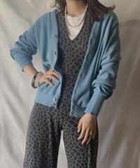 【USED】 Acrylic Knit Cardigan② /210303-002