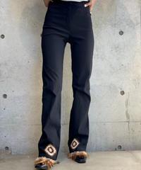 【Used】Hem Feather Pants  /200915-009