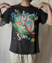 【USED】 S/S T-shirt THE REN &STIMPY SHOW/210617-048
