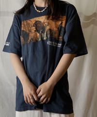 【USED】S/S T-shirt DOG 13/210604-049