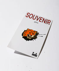 【ink】 SOUVENIR PINS TIGER /INK BS-05