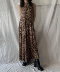 【USED】 Leopard Patterned N/S One-piece/210611-020