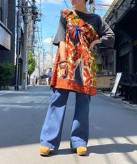 【Used】African Batik Tops 3