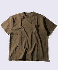 【MAX WEIGHT JERSEY】Short Sleeve T-shirt  Pocket (Khaki)