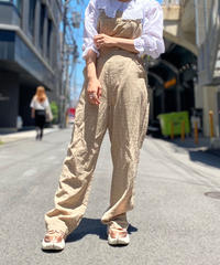 【Used】Linen Mix Overall