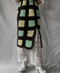 【RE;CIRCLE】 RE Granny × Crochet Long Skirt①/211014-020