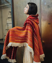 [USED] Knit Poncho (AWV1)