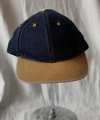 【USED】 Baseball Cap DENIM(NISSIN) /210515-025