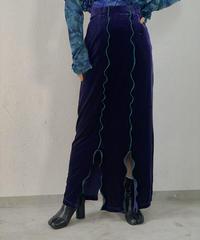 【RE;CIRCLE】 Mellow  Velour Skirt  / 210106-029