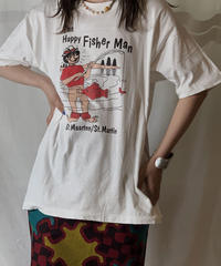 【USED】S/S T-shirt Fisher Man /210604-044